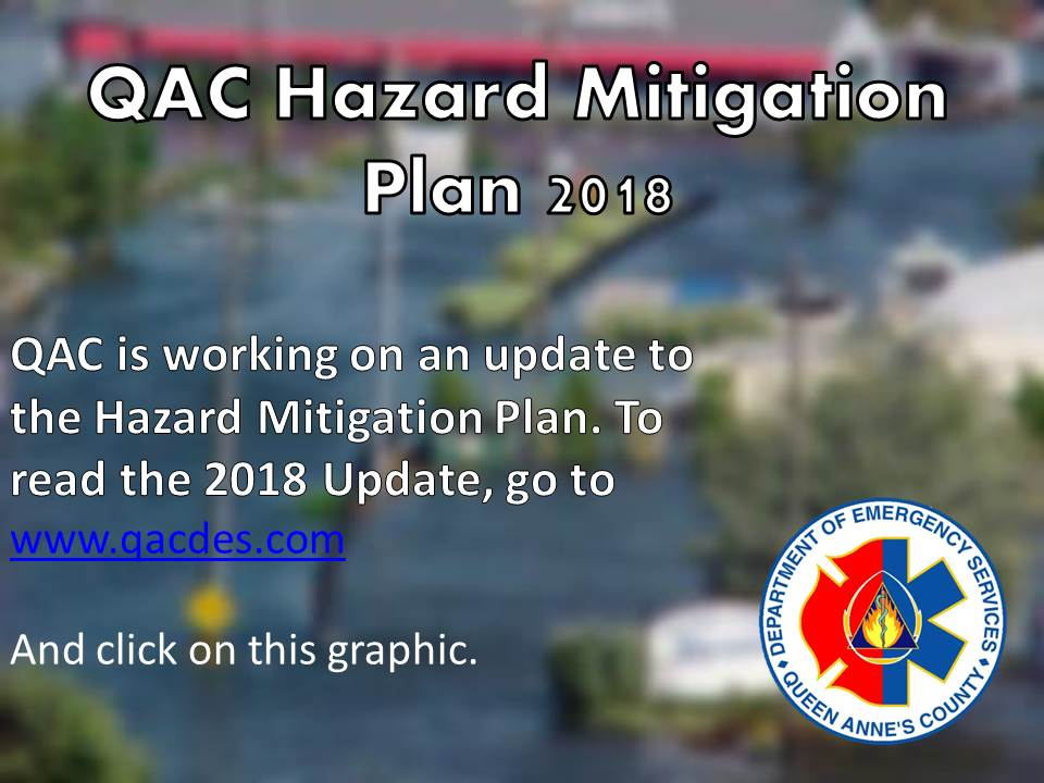 DES Updates Hazard Mitigation Plan