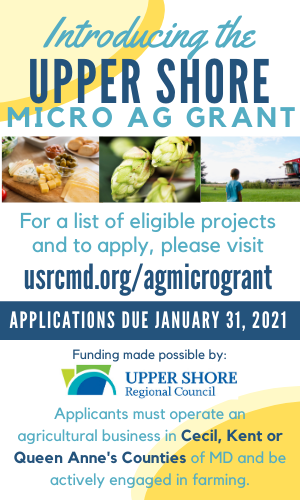 Delmarva Farmer Digital Upper Shore Micro Ag Grant