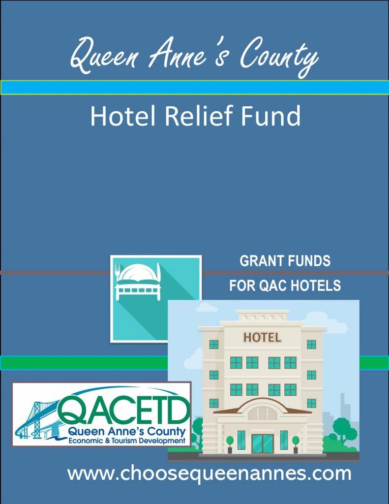 Hotel relief Fund graphic